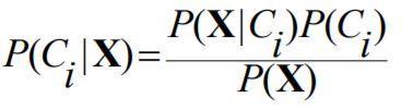 Maksimal P (Ci   X) Naive Bayes