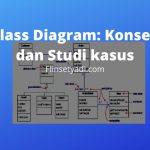 Class Diagram Konsep dan Studi kasus