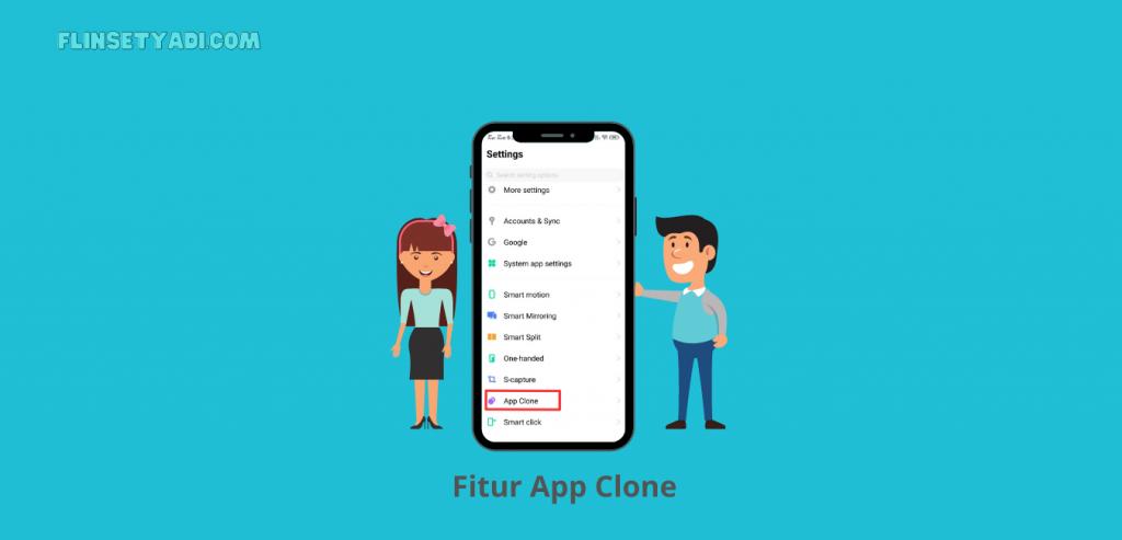 Fitur App Clone