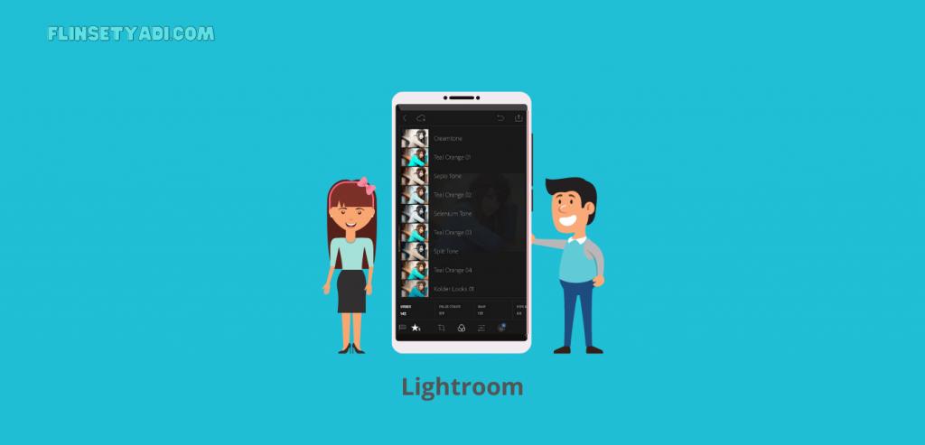 Aplikasi Lightroom
