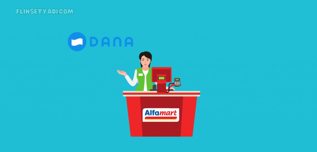 Cara tarik saldo DANA di Alfamart
