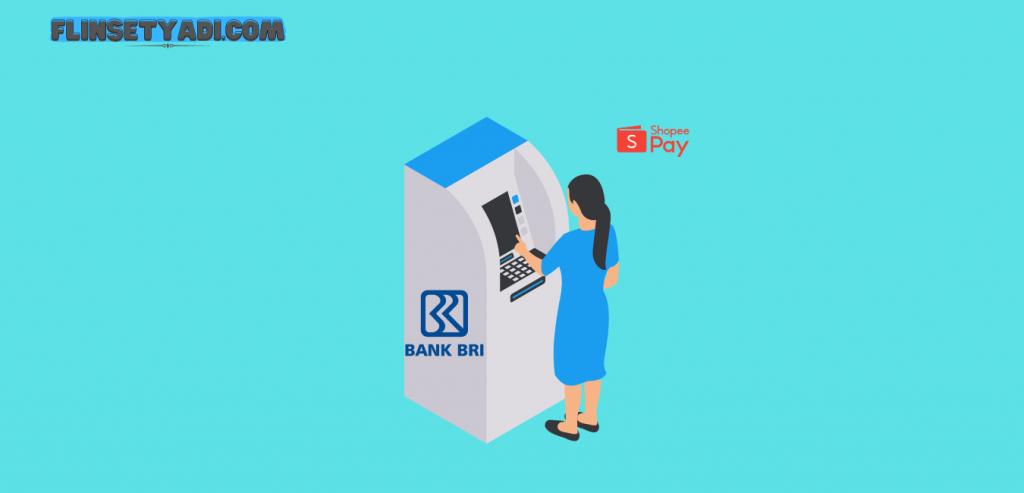 Cara top up ShopeePay melalui ATM BRI