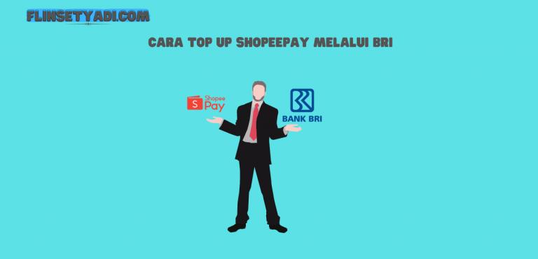 top up shopeepay bri