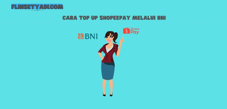 top up shopeepay BNI