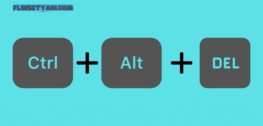 Mematikan Laptop Menggunakan CTR + ALT + DEL