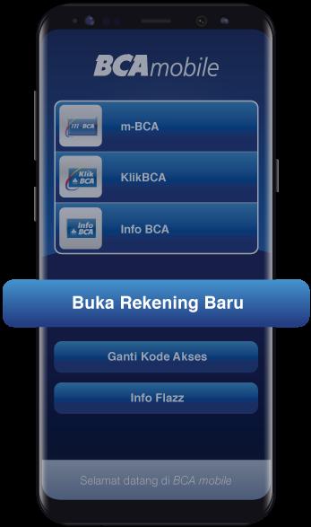 Buka Rekening Baru - BCA Mobile