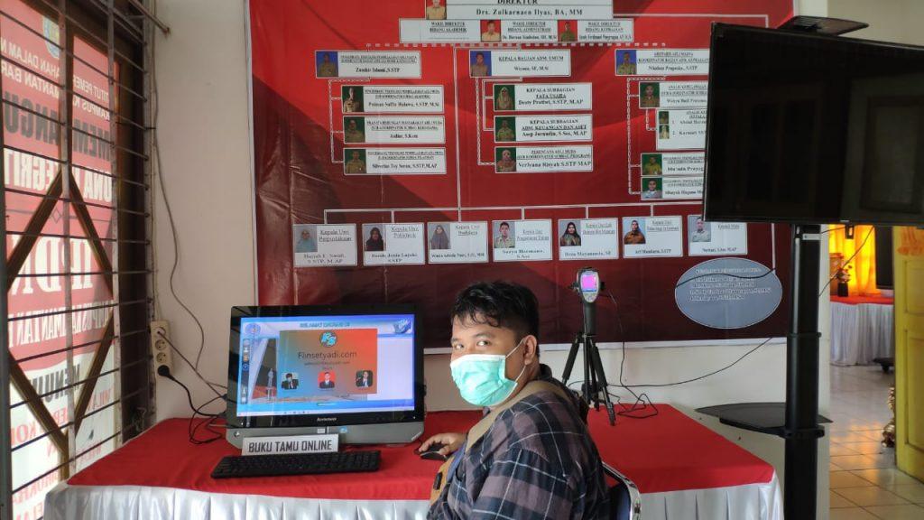 Buku Tamu Digital IPDN Kampus Kalimantan Barat
