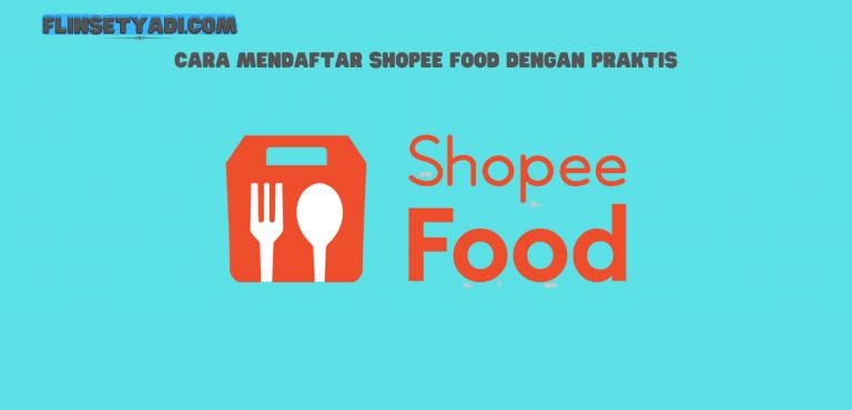 Mendaftar Shopee Food