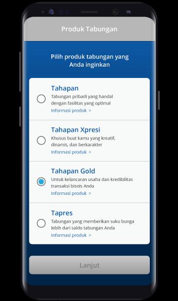 Produk Tabungan - BCA Mobile