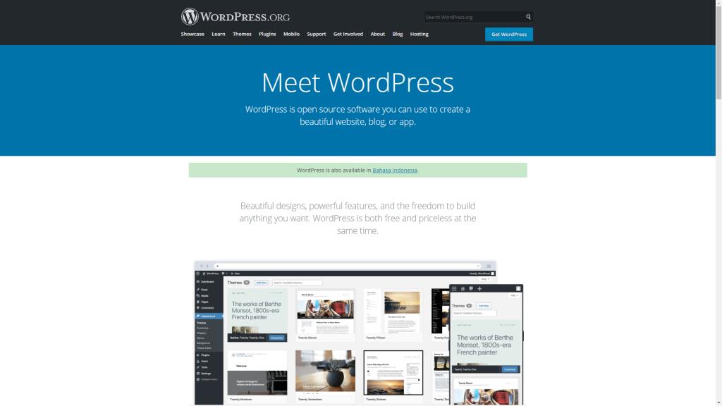 Cara Buat Blog di WordPress.org