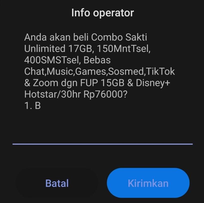 kuota murah telkomsel 2021 - Combo Sakti Unlimited *363#