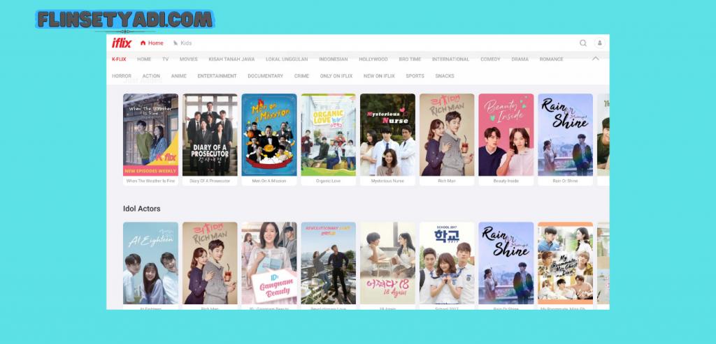 Aplikasi Nonton Korea Iflix