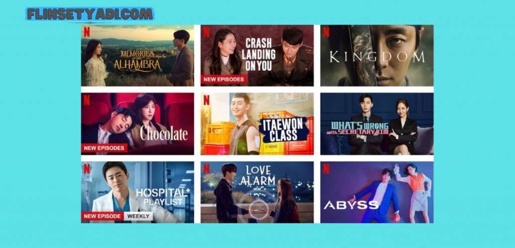 Aplikasi Nonton Korea Netflix