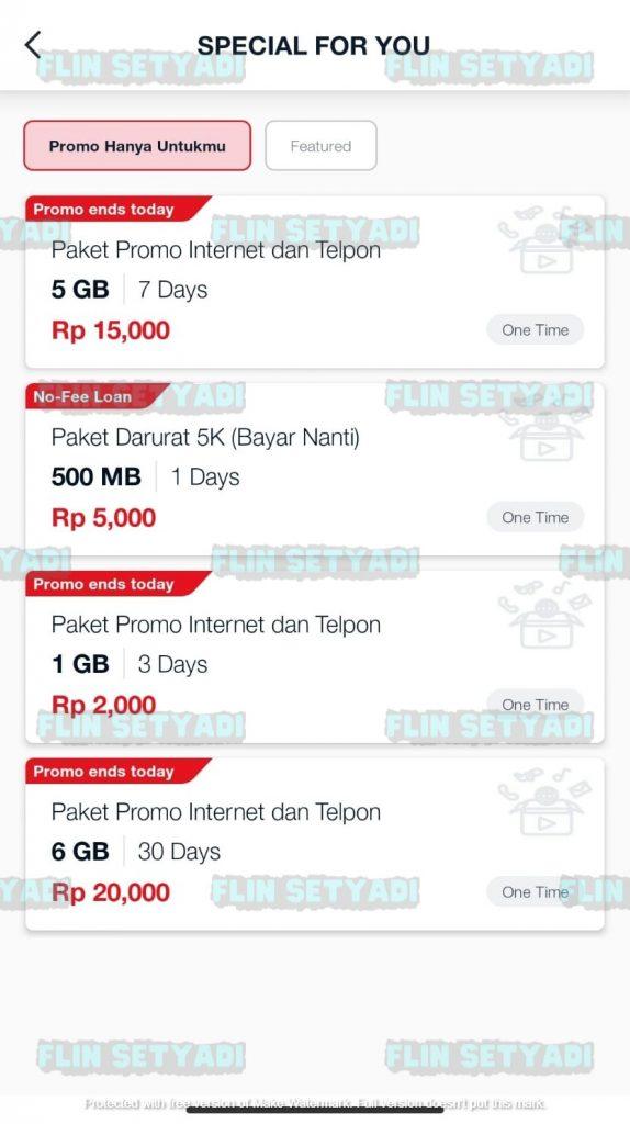 kuota harian murah telkomsel 2021