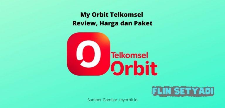 My Orbit Telkomsel Review, Harga dan Paket