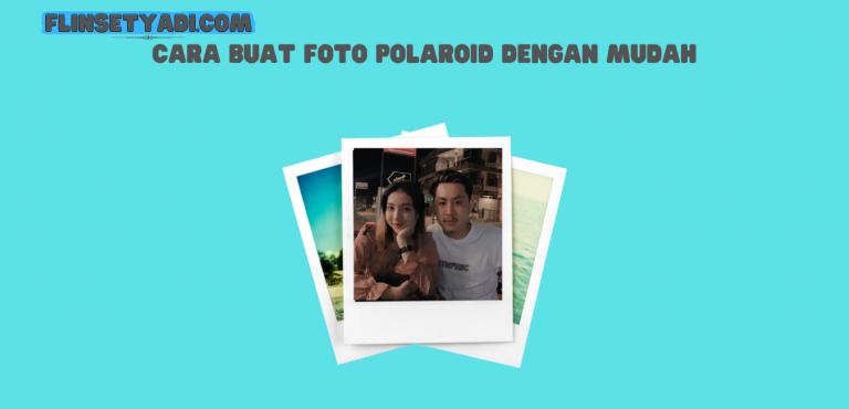 buat foto polaroid